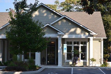 front dental office