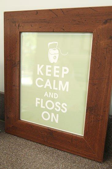 Keep Calm Floss On